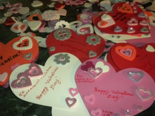Harvey Kids, Valentine's Making 146